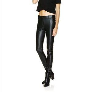 Aritzia vegan leather leggings/pants